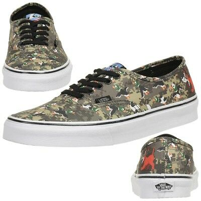 Vans Authentic Nintendo Duck Hunt CAMO COMIC Sneaker Scarpe Tunschuhe