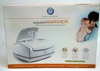 Prince Lionheart Ultimate Wipes Warmer Anti Microbial Baby Shower Diaper # 28325