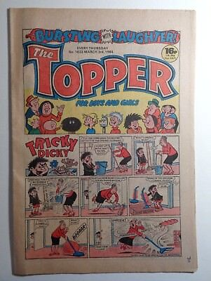 The Topper Comic No.1622 3rd March 1984 D.C. Thomson Cartoon Humour