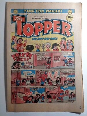 The Topper Comic No.1633 19th May 1984 D.C. Thomson Cartoon Humour