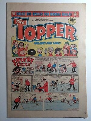 The Topper Comic No.1646 18th August 1984 D.C. Thomson Cartoon Humour