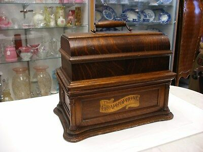 buying kitchen cabinets antique columbia phonograph graphophone talking machine 1897
