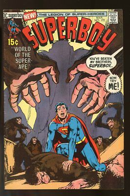 Superboy #172 Very Good+ Neal Adams Cover 1972 Dc Comics