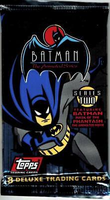 1993 Topps Batman The Animated Series Series 2 Trading Card Pack