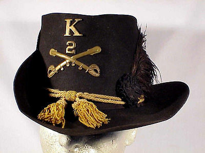 Original Model 1858 CAVALRY Jeff Davis HARDEE HAT