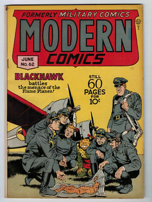 Modern Comics #62 6.0 1947 Off-White Pages