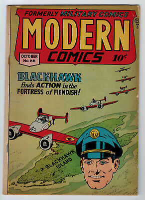 Modern Comics #66 4.0 1947 Off-White Pages