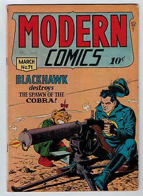 Modern Comics #71 3.0 1948 Cream/off-White Pages