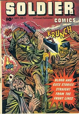 SOLDIER COMICS 1952  #6, GI IN BATTLE #5, Two in one LOT!