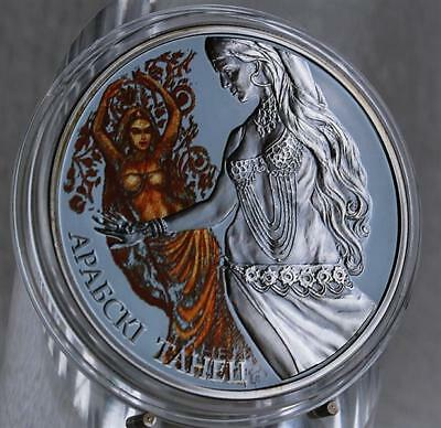 20 Rubel Silber Weissrussland Magic of the Dance Arabic Dance 2011 Proof