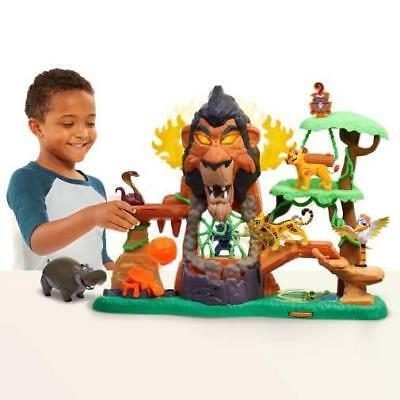 Disney Just Play The Lion Guard Rise Of Scar Play Set Kion Figure Lights Sounds