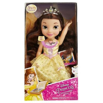 Disney - Sing and Shimmer Toddler Belle - Belle - English Edition