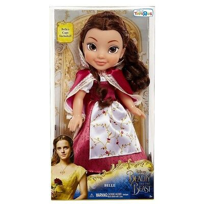 Disney Beauty and the Beast - Belle Red Dress/Cape Doll - Belle