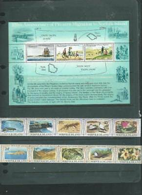 Norfolk Is 1 Mint mixed condition, maybe use for postage Face is almost $4 [373]