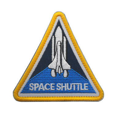 Space Shuttle Military Morale Badges Embroidered Hook Patch  A 1205