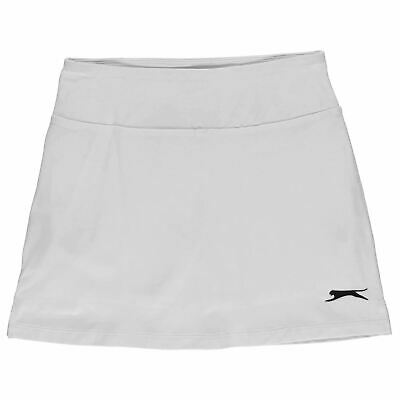 Slazenger Kids Girls Court Skort Junior Performance Lightweight Mesh Stretch