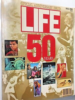Vintage Life Magazine 50th Anniversary Special Edition, Fall of 1986