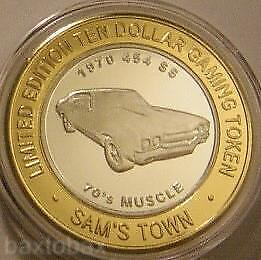 SAM'S TOWN Silver Strike 1970 CHEVY CHEVELLE 454 SS  70's MUSCLE CAR