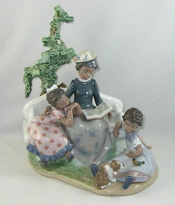 """Lladro BLACK LEGACY Figurine 5371 """"FAMILY ROOTS"""" In Original Box / Issued 1986"""