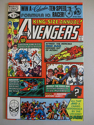 Avengers Annual #10 1st Appearance of Rogue Nice High Grade Copy!