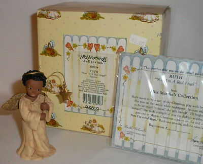 Miss Martha's All God's Children  - Ruth - Now I'm A Real Angel Figurine