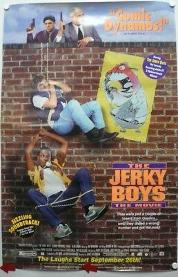 THE JERKY BOYS Movie Poster made in 1995