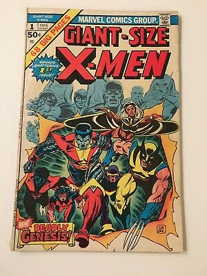 Giant-Sized X-Men #1 (1975) 1st Storm, Colossus, Nightcrawler 3rd Wolverine