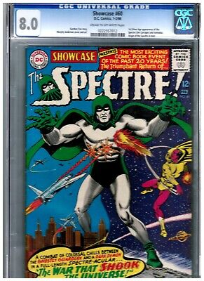 Showcase #60 Cgc 8.0 Blue First Silver Age Of Spectre Justice League Dark