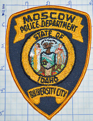 Idaho, Moscow Police Dept Vintage Patch