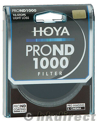 Hoya PRO ND 62mm ND1000 (3.0) 10 Stop ND Neutral Density Filter XPD-62ND1000