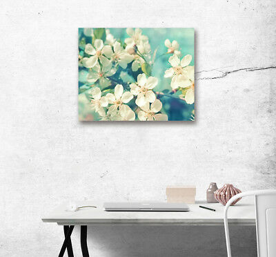 Spring Blooming Flower Modern Wall Art Poster Print Home Decor Canvas Painting