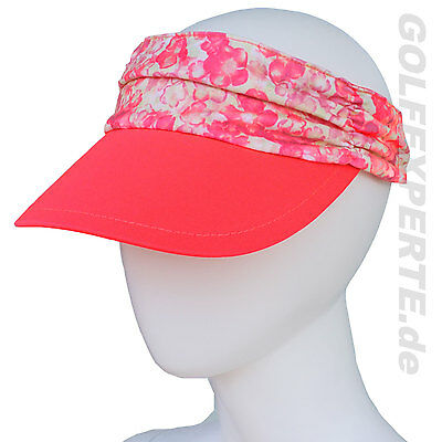 Adidas Golf Damen Ruched Visor Flower One Size