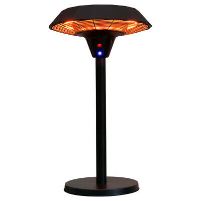 Charles Bentley Electric Table Top Patio Heater - 2000 W - 240 V