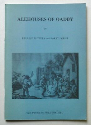 BUTTERY Alehouses of Oadby Leicestershire