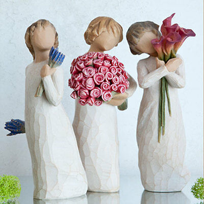 Willow Tree Three Sisters Figurine Gift Set Family Group