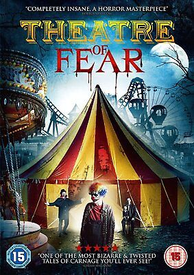 * New Sealed Dvd Film * Theatre Of Fear *
