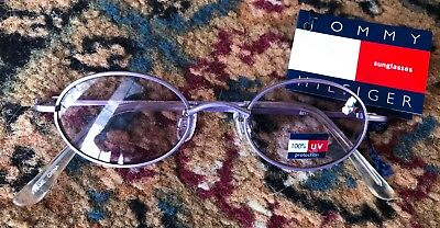 NEW NWT TOMMY HILFIGER Toddler SUNGLASSES Girls 100% UV Protection Purple CUTE!