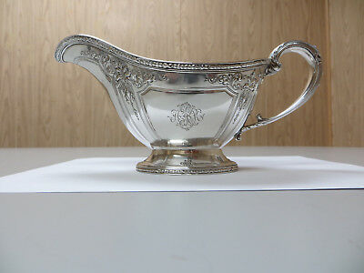 """Bailey,Banks & Biddle Co. Antique Sterling Ornate Victorian"""" Gravy / Underplate"""""""