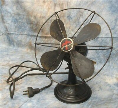 Westinghouse Cardinal Fan Style 868852 Working 8 Metal Blades 1 Speed Vintage