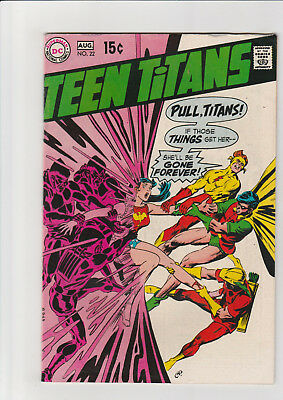 Teen Titans #22 (Jul-Aug 1969, DC) VG+