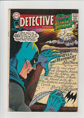 Detective Comics #366 (Aug 1967, DC) VG Batman