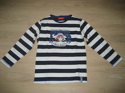 Salt and Pepper Shirt Gr.140/146 Piratenshirt Unisex Maritim Langarmshirt