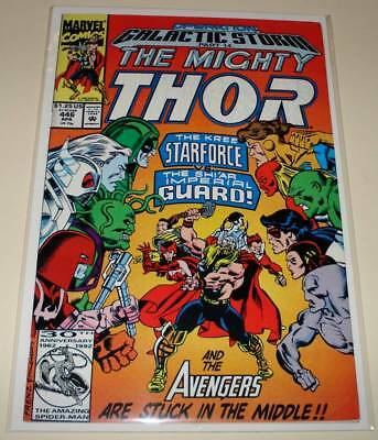 The Mighty THOR # 446  Marvel Comic  (April 1992)    FN