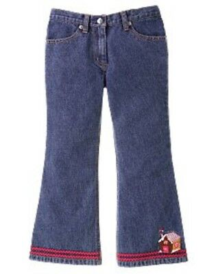 NWT Gymboree Girls Sugar and Spice Gingerbread Jeans Size 2T