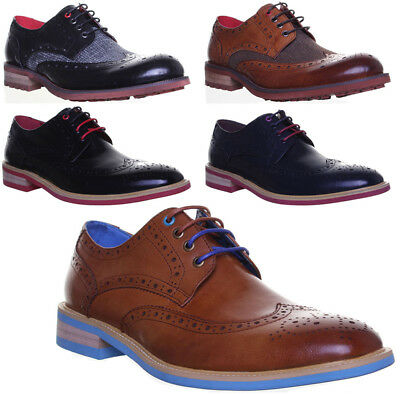 Justin Reece Formal Office Lugano Mens Leather Shoes Size 6 7 8 9 10 11 12 13