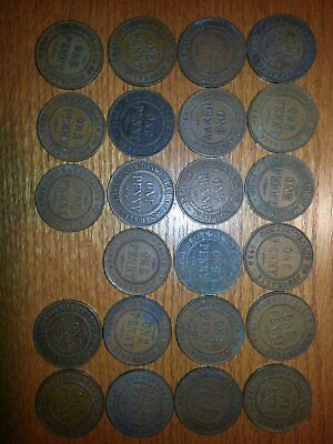 Australia One Penny Dealers Lot of 23 Coins
