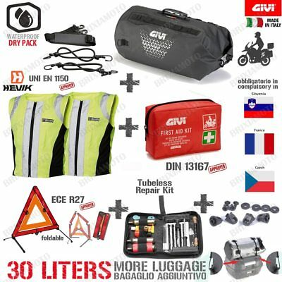 Bag Givi Ut801 Safety Set Hi-Vis Tyre Ducati 937 Hypermotard 939 2016-2018