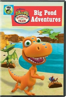 DINOSAUR TRAIN BIG POND ADVENTURES New Sealed DVD
