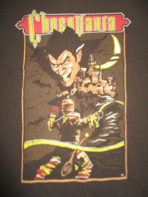 Vintage CHOCOVANIA Count Chocula DRACULA (LG) T-Shirt Monster Cereal