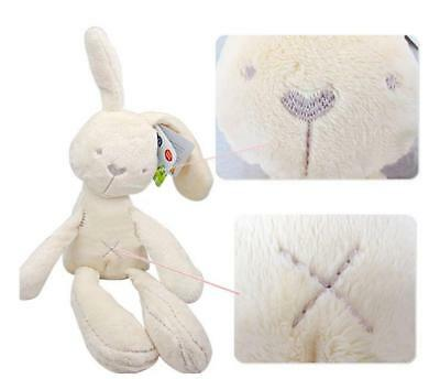 ON SALE Kids Rabbit Baby Fluffy Soft Bunny Plush Toys Doll Educational Gifts H